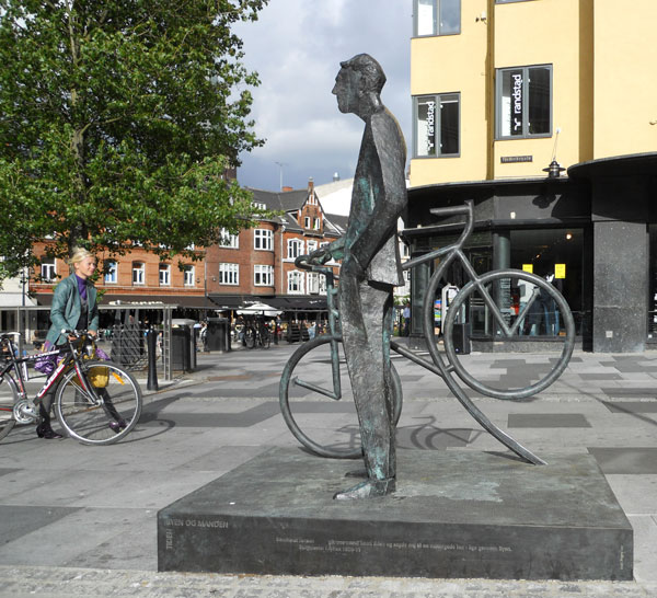 Bernhardt Jensen. Den cyklende Borgmester