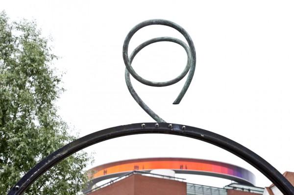 Skulptur Vester alle i Aarhus