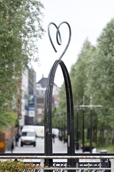 Skulptur ved Åen i aarhus