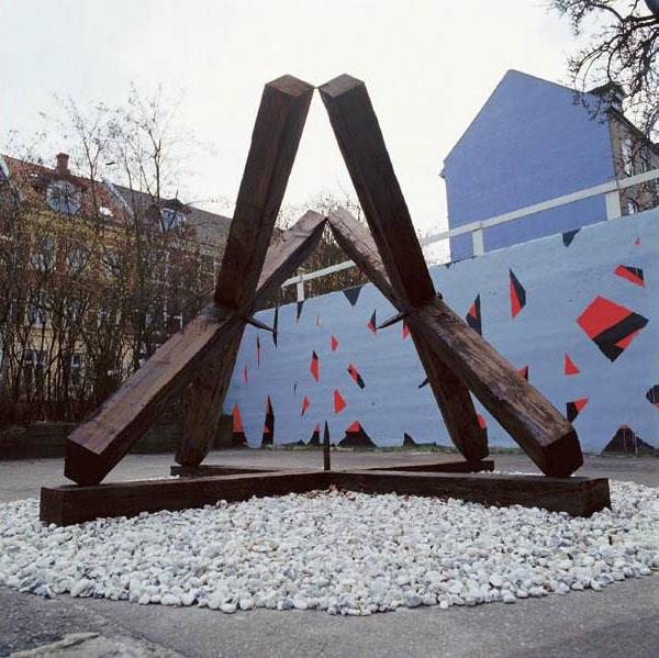 Spansk Port. Skulptur projekt