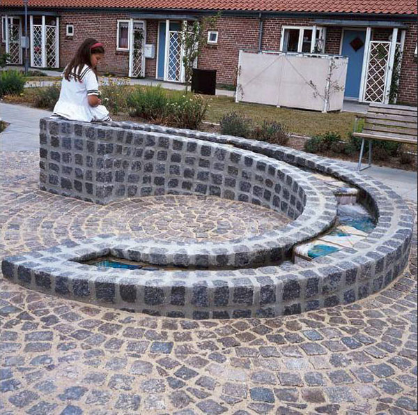 Vandkunst Keramik granit